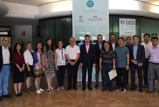 Visita china al IATA